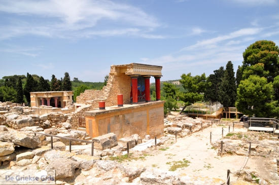 Knossos Kreta Griekenland